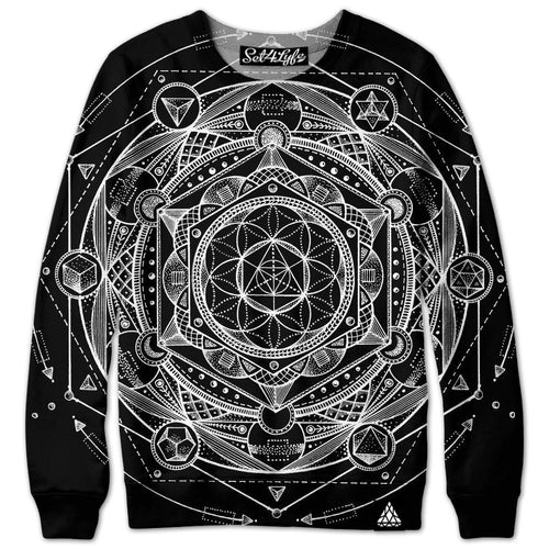 Set 4 Lyfe / Glenn Thomson - ESOTERIC DARK SWEATSHIRT - Clothing Brand - Premium Sweatshirt - SET4LYFE Apparel