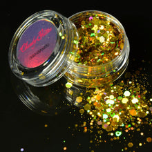 Load image into Gallery viewer, Gold Glitter/Makeup Set, , Shenzen Top Focus Industrial, Need 2 Rave