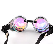 Load image into Gallery viewer, Original Steampunk Kaleidoscope Goggles