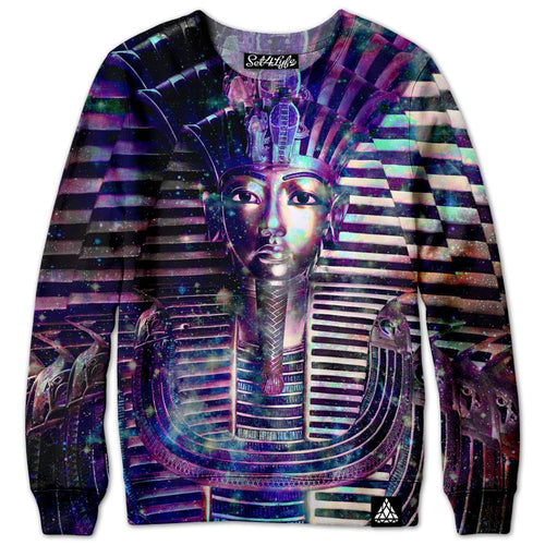 Set 4 Lyfe - SPACE PHARAOH SWEATSHIRT - Clothing Brand - Premium Sweatshirt - SET4LYFE Apparel