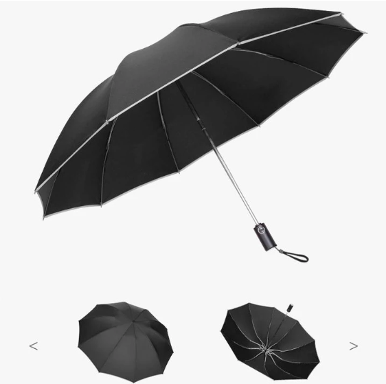 Fully Automatic Foldable Reversible Umbrella