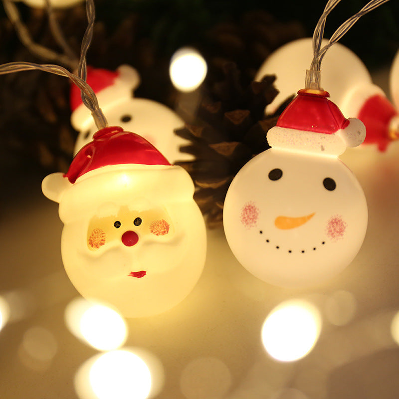 led Christmas Snowman Light