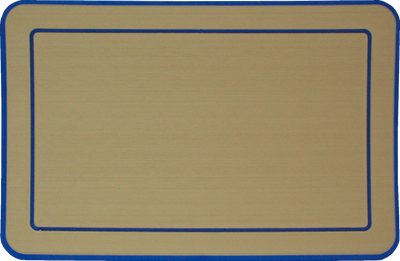 Yeti Roadie 20 Cooler Pad: Butterscotch over Aegean Blue - Bordered - 6mm