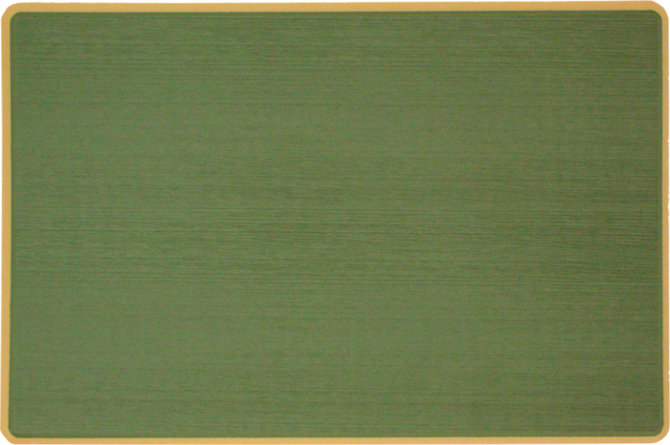 Yeti Roadie 20 Cooler Pad: Forest Green over Butterscotch - Brushed - 6mm