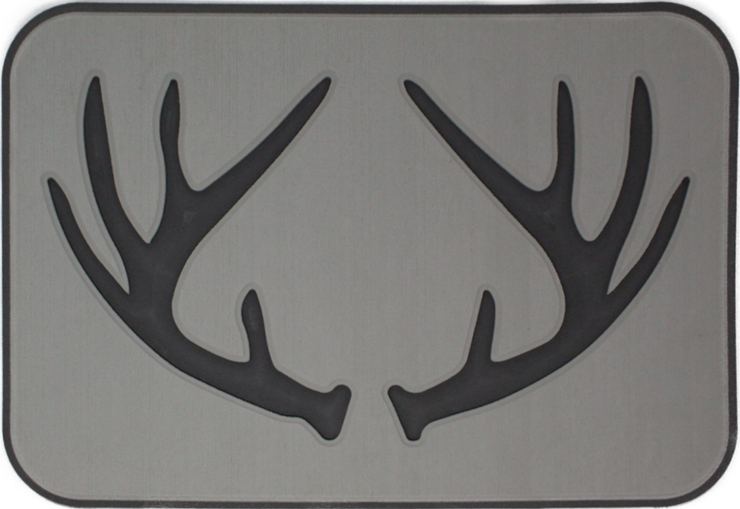 Yeti Tundra 35 Cooler Pad: Mist Gray over Slate Gray - Deer Antlers - 6mm