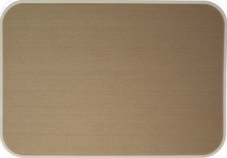 Yeti Tundra 35 Cooler Pad: Teak over Cream - Brushed - 6mm