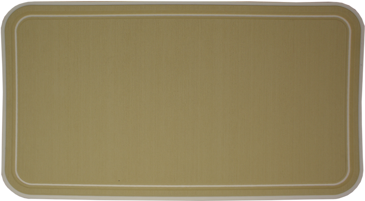 Yeti Tundra 45 Cooler Pad: Butterscotch over Cream - Bordered - 6mm