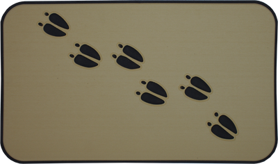 Yeti Tundra 45 Cooler Pad: Butterscotch over Black - Deer Tracks - 6mm