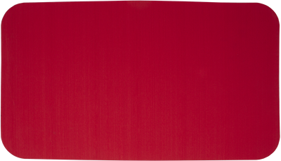 Yeti Tundra 45 Cooler Pad: Red - Brushed - 3mm