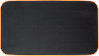 Yeti Tundra 45 Cooler Pad: Black over Orange - Brushed - 6mm