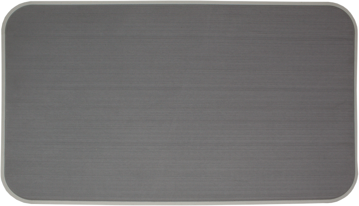 Yeti Tundra 45 Cooler Pad: Slate Gray over Mist Gray - Brushed - 6mm