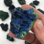 Crystal Specimens - Azurite Malachite