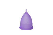 Load image into Gallery viewer, V-CUPS Model 1 Purple Menstrual Cups - Chakra Va