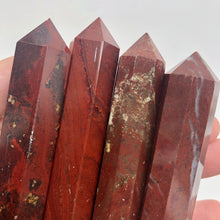 Load image into Gallery viewer, Crystal Double Point - Red Jasper