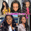 Cranberry 4x4 Indian Lace Closure Wigs Body Wave 100% Human Hair Wigs For Black Women