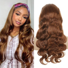 Cranberry Loose Wave Hair Weave 3pcs Human Hair Bundles With Lace Closure Remy Brazilian Hair