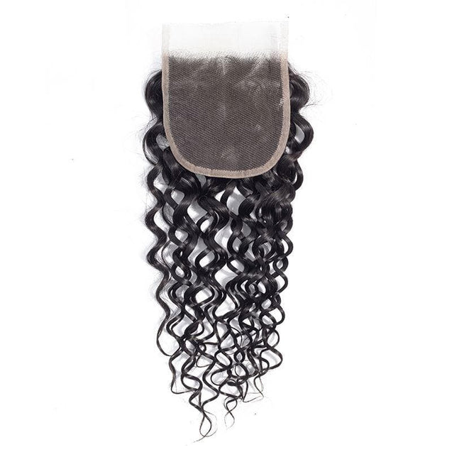 Cranberry Indian Hair Weave Middle/Free/Three Part Lace Closure With 3 Bundles Water Wave Human Hair 3 Bundles with Closure > Water Wave > Indian Hair Cranberry Hair