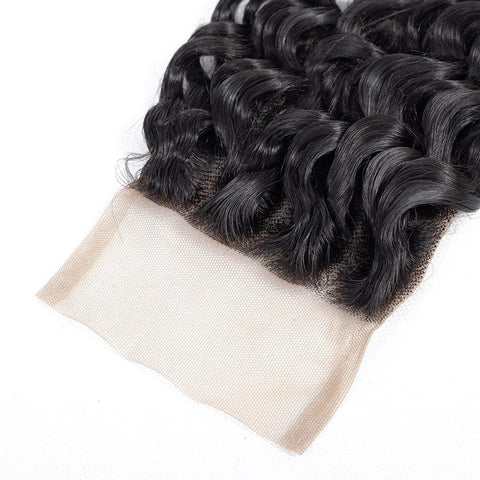 Cranberry Brazilian Deep Wave Lace Closure 1 Pcs Natural Color 8-20 Inch 100% Human Hair Lace Closure > Deep Wave > Brazilian Hair Cranberry Hair