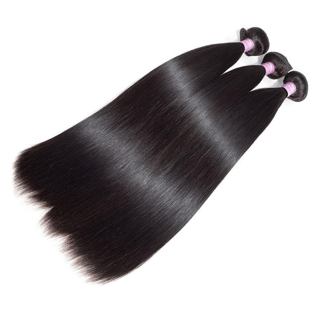 Cranberry 3pcs Lot Brazilian Silky Straight Human Hair Weave Bundles Natural Color Human Hair Bundles > Silky Straight > 3 Bundles > Brazilian Hair Cranberry Hair