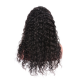 Cranberry  4x4Inch Lace Closure Human Hair Wigs Water Wave Remy Peruvian  Hair Wigs Natural CoLor