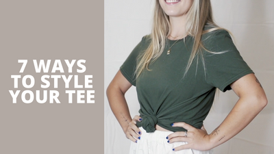 DESIGN | 7 Ways to Style Your Tee
