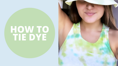 DESIGN | How to Tie Dye