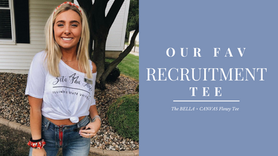 DESIGN | The Best T-shirt for Sorority Recruitment