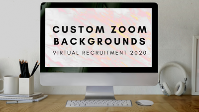 DESIGN | How To Make Custom Zoom Backgrounds With Canva