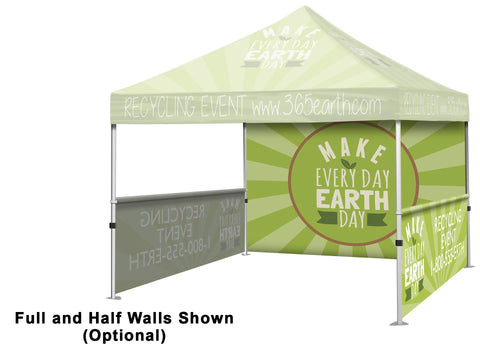 Tent Full Wall (Full Color) - Campus Ink