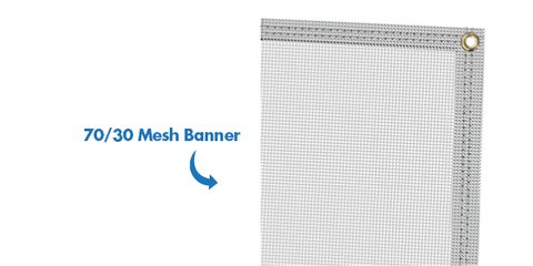 Mesh Banners - Campus Ink