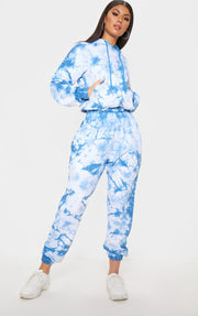 Tie Dyed Sweatsuit - Campus Ink