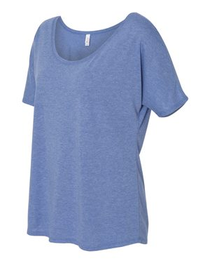 BELLA + CANVAS - Women's Slouchy Tee - 8816 - Campus Ink