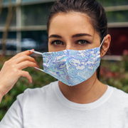 Campus Mask (Sublimated Wtih Straps) - Campus Ink