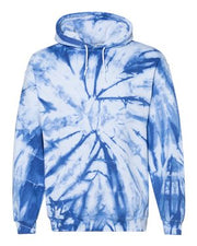 Blended Hooded Sweatshirt - Campus Ink