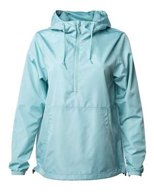 Independent Trading Co. - Unisex Lightweight Quarter-Zip Windbreaker Pullover Jacket