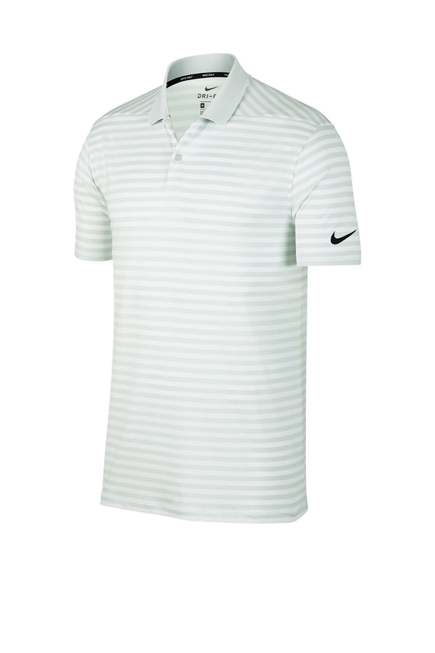 Nike Dry Victory Striped Polo - Campus Ink