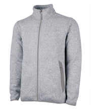 Charles River Men's Heathered Fleece Jacket - Campus Ink