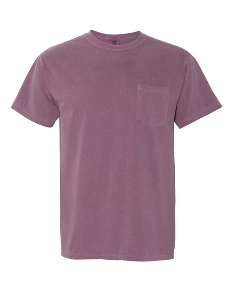 Garment-Dyed Heavyweight Pocket T-Shirt - Campus Ink