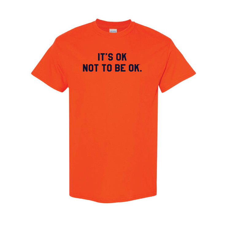 It's Ok® Orange College Tee