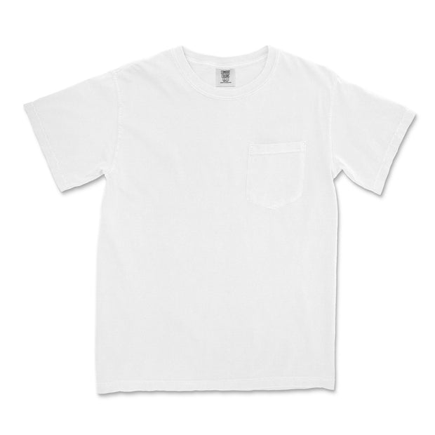 Comfort Colors - Garment-Dyed Heavyweight Pocket T-Shirt - Campus Ink