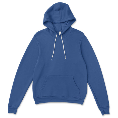 BELLA + CANVAS - Unisex Sponge Fleece Hoodie - 3719 - Campus Ink