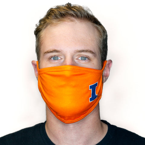 Sublimated Fabric Masks - Campus Ink
