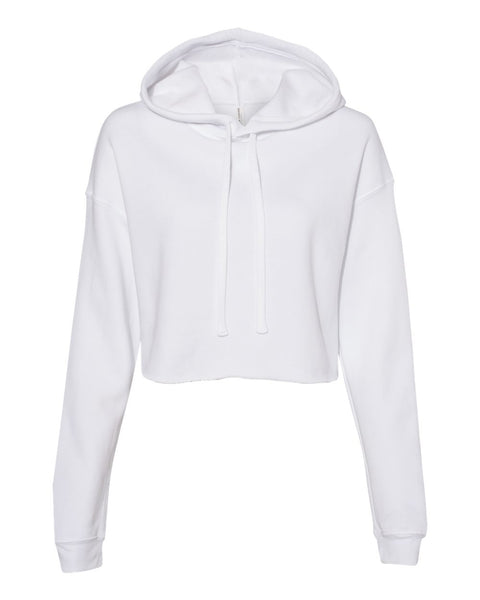 Women's Cropped Fleece Hoodie - Campus Ink