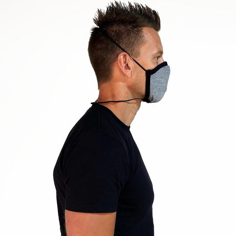 ALLMASK™ TRI-BLEND PROTECTIVE FITTED FACE MASK - Campus Ink