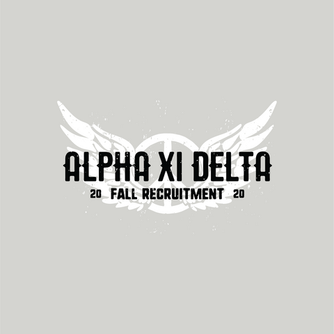 Aerosmith Alpha Xi Delta Shirt Design - Campus Ink