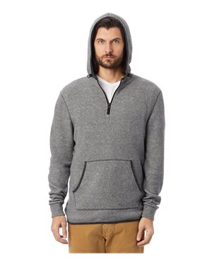 Alternative - Eco-Teddy Outdoor Quarter-Zip Hoodie