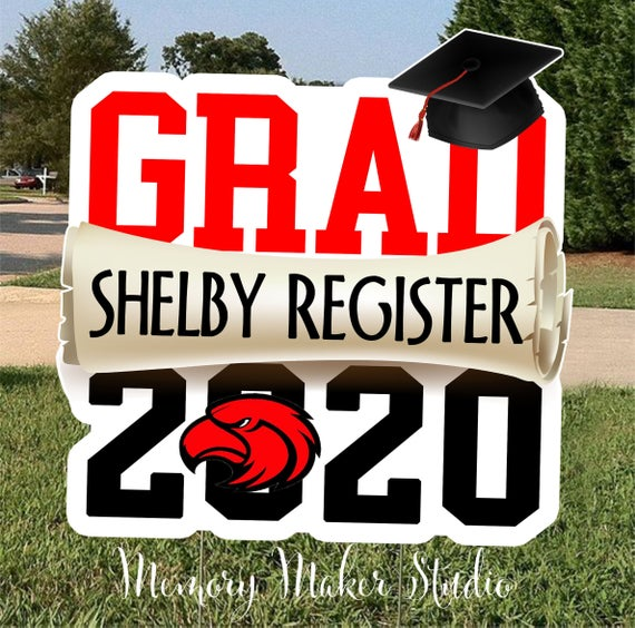 Class of 2020 Graduation Yard Sign - Campus Ink