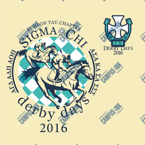 Sigma Chi Derby Days Derby Design - Campus Ink