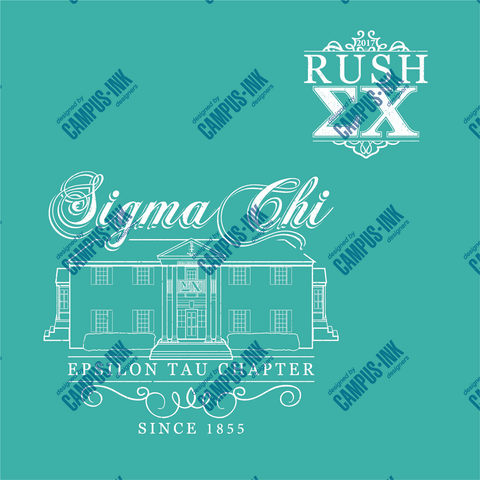 Sigma Chi House Design - Campus Ink