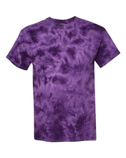 Dyenomite - Crystal Tie Dye T-Shirt - Campus Ink